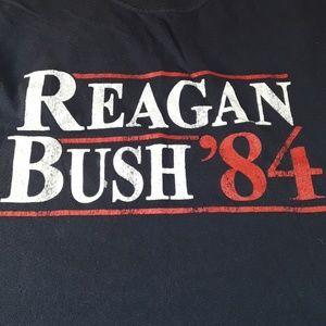 Reagan  and  Bush 1984. SZ. Small